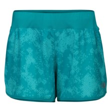 The North Face Eat My Dust Shorts - UPF 30, Inner Briefs (For Women) in Synergy Blue - Closeouts