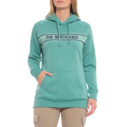 The North Face Edge to Edge Hoodie (For Women) in Bristol Blue Heather - Closeouts