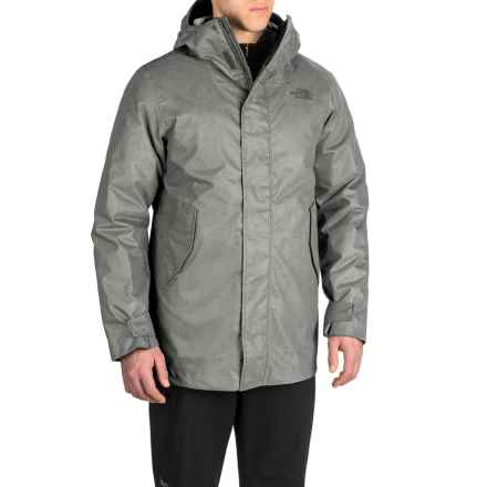 The North Face Elmhurst TriClimate® Jacket - Waterproof, Insulated, 3-in-1 (For Men) in Fusebox Grey - Closeouts