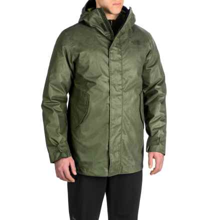The North Face Elmhurst TriClimate® Jacket - Waterproof, Insulated, 3-in-1 (For Men) in Rosin Green - Closeouts