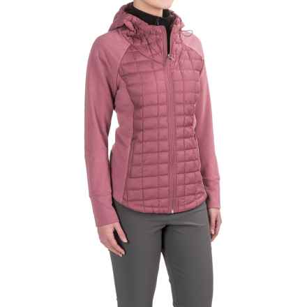 The North Face Endeavor ThermoBall® Jacket - Insulated (For Women) in Renaissance Rose/Renaissance Rose Dark Heather (St - Closeouts