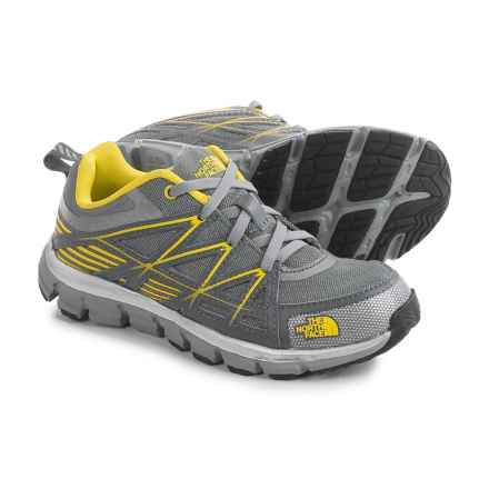 The North Face Endurance Shoes (For Little and Big Kids) in Griffin Grey/ Blazing Yellow - Closeouts