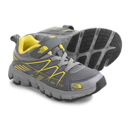 The North Face Endurance Shoes (For Toddlers and Little Kids) in Griffin Grey/ Blazing Yellow - Closeouts