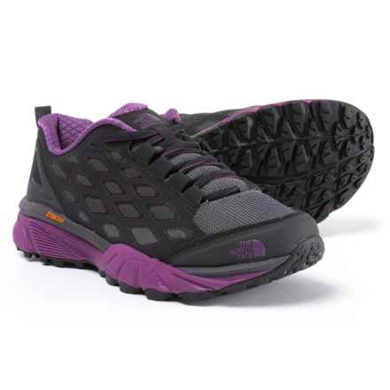 The North Face Endurus Hike Hiking Shoes (For Women) in Phantom Grey/Wood Violet - Closeouts