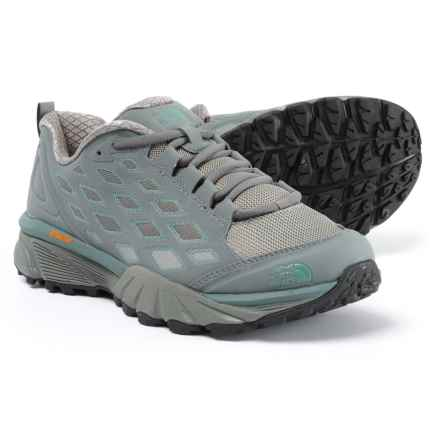 The North Face Endurus Hike Hiking Shoes (For Women) in Sedona Sage Grey/Trellis Green - Closeouts