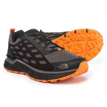 The North Face Endurus TR Trail Running Shoes (For Men) in Dark Gull Grey/Exuberance Orange - Closeouts