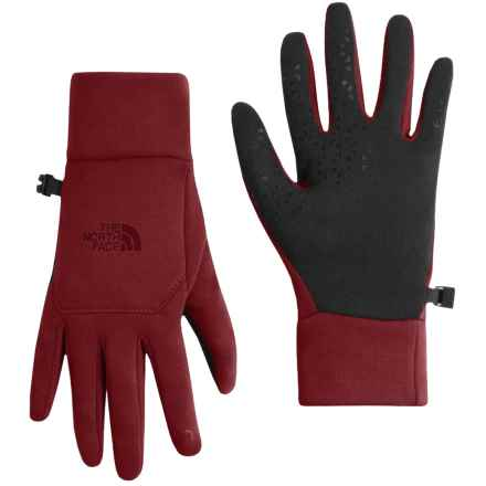 The North Face Etip Gloves - Touch-Screen Compatible (For Women) in Barolo Red - Closeouts