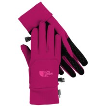 The North Face Etip Gloves - Touch-Screen Compatible (For Women) in Dramatic Plum - Closeouts