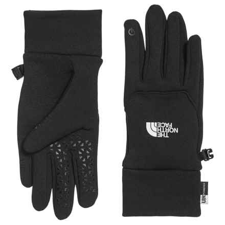 The North Face Etip Gloves - Touch-Screen Compatible (For Women) in Tnf Black - Closeouts