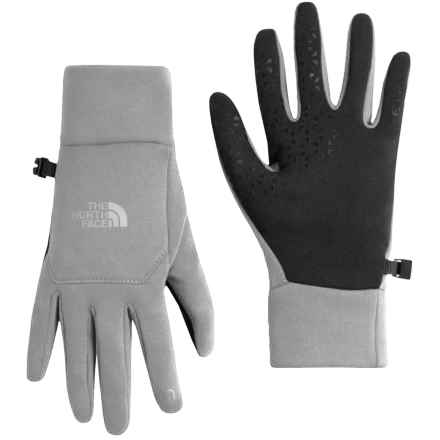 The North Face Etip Gloves - Touch-Screen Compatible (For Women) in Tnf Light Grey Heather - Closeouts