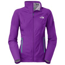 The North Face Exodus Soft Shell Jacket (For Women) in Iris Purple - Closeouts