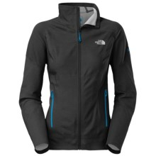 The North Face Exodus Soft Shell Jacket (For Women) in Tnf Black - Closeouts