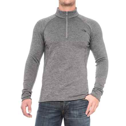 The North Face Expedition Base Layer Top - Zip Neck, Long Sleeve (For Men) in Zinc Grey Heather - Closeouts