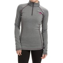 The North Face Expedition Base Layer Top - Zip Neck, Long Sleeve (For Women) in Graphite Grey Heather - Closeouts