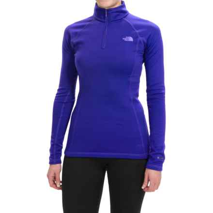 The North Face Expedition Base Layer Top - Zip Neck, Long Sleeve (For Women) in Lapis Blue - Closeouts