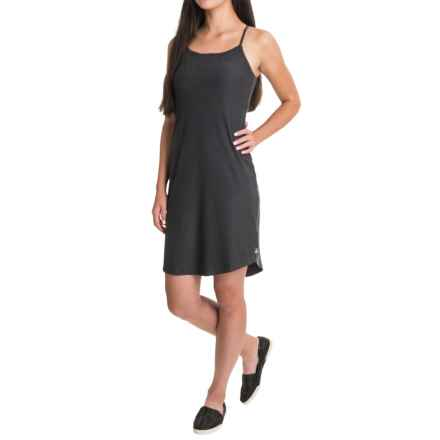 The North Face Exposure Dress - UPF 50, Sleeveless (For Women) in Tnf Dark Grey Heather - Closeouts