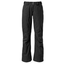 The North Face Farrows Ski Pants -  Waterproof, Insulated (For Women) in Tnf Black - Closeouts