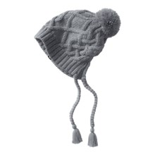 The North Face Flecka Ear Flap Beanie (For Women) in Mid Grey/Vaporous Grey - Closeouts