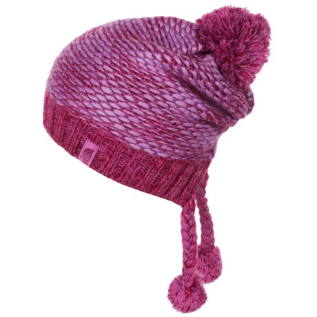The North Face Flecka Hat - Ear Flaps (For Little and Big Girls) in Lupine/Wisteria Purple
