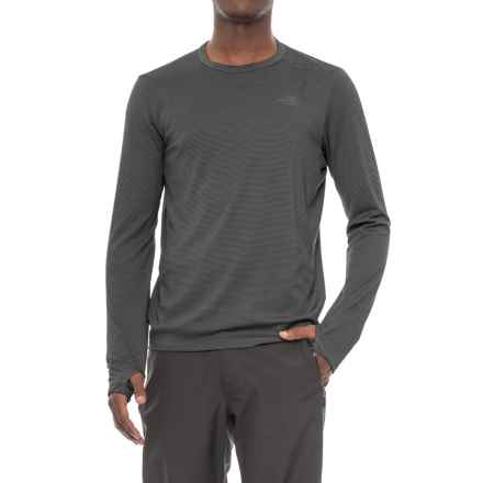 The North Face Flight Touji Shirt - Long Sleeve (For Men) in Asphalt Grey - Closeouts