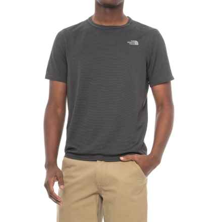 The North Face Flight Touji Shirt - Short Sleeve (For Men) in Asphalt Grey - Closeouts