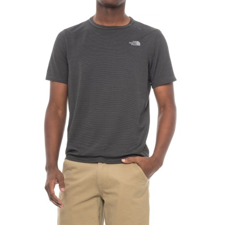 The North Face Flight Touji Shirt - Short Sleeve (For Men) in Asphalt Grey