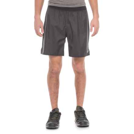 "The North Face Flight Trail Shorts - 7"" (For Men) in Tnf Black - Closeouts"