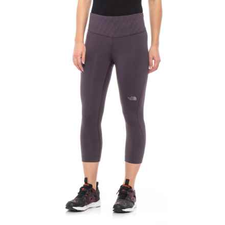 27297d98e7627 The North Face Flight Zero Mid Rise Capris (For Women) in Galaxy Purple -