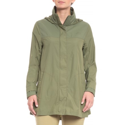 50762afbe2a The North Face Flychute Jacket (For Women) in Deep Lichen Green - Closeouts