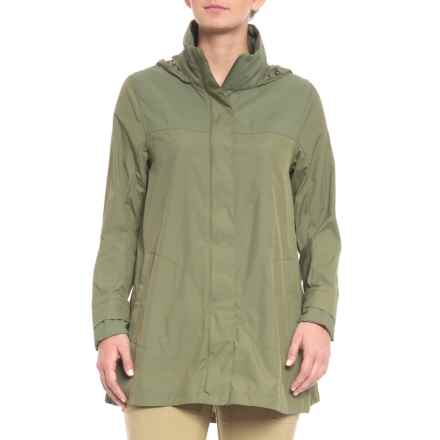 The North Face Flychute Jacket (For Women) in Deep Lichen Green - Closeouts
