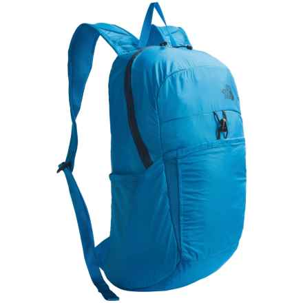 The North Face Flyweight Backpack in Blue Aster/Shady Blue - Closeouts