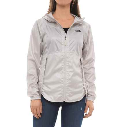 The North Face Flyweight Hoodie - Windproof (For Women) in Moonlight Ivory - Closeouts