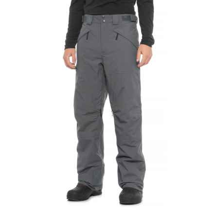 The North Face Fourbarrel Pants - Waterproof, Insulated (For Men) in Turbulence Grey - Closeouts