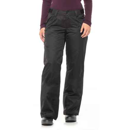 The North Face Fourbarrel Ski Pants - Waterproof, Insulated (For Women) in Tnf Black - Closeouts