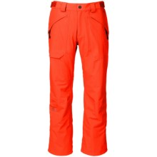 The North Face Fredrick St Ski Pants - Waterproof (For Men) in Acrylic Orange - Closeouts