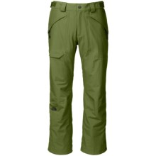 The North Face Fredrick St Ski Pants - Waterproof (For Men) in Scallion Green - Closeouts