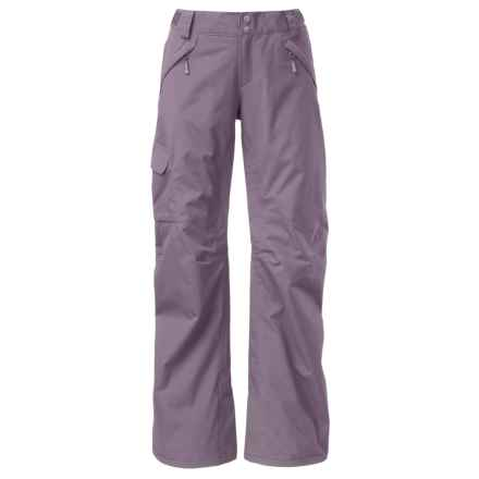 The North Face Freedom LRBC Ski Pants - Waterproof, Insulated (For Women) in Coastal Grey - Closeouts
