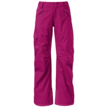 The North Face Freedom LRBC Ski Pants - Waterproof, Insulated (For Women) in Dramatic Plum - Closeouts