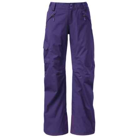 The North Face Freedom LRBC Ski Pants - Waterproof, Insulated (For Women) in Garnet Purple - Closeouts