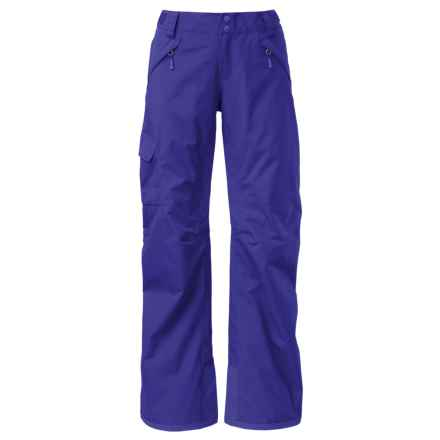 The North Face Freedom LRBC Ski Pants - Waterproof, Insulated (For Women) in Lapis Blue - Closeouts