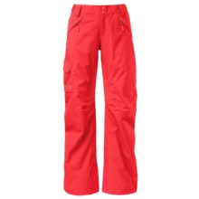 The North Face Freedom LRBC Ski Pants - Waterproof, Insulated (For Women) in Melon Red - Closeouts
