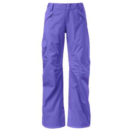 The North Face Freedom LRBC Ski Pants - Waterproof, Insulated (For Women) in Starry Purple - Closeouts