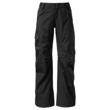 The North Face Freedom LRBC Ski Pants - Waterproof, Insulated (For Women) in Tnf Black/Tnf Black - Closeouts