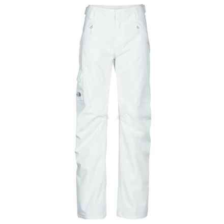 The North Face Freedom LRBC Ski Pants - Waterproof, Insulated (For Women) in Tnf White/Tnf White - Closeouts