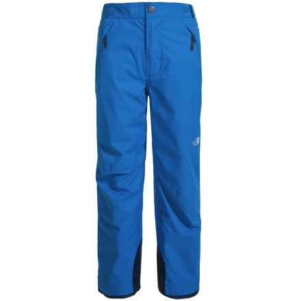 The North Face Freedom Pants - Waterproof, Insulated (For Little and Big Boys) in Jake Blue - Closeouts