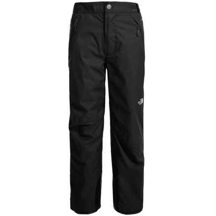 The North Face Freedom Pants - Waterproof, Insulated (For Little and Big Boys) in Tnf Black - Closeouts