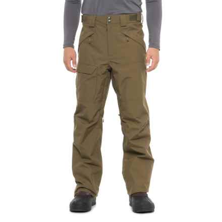 The North Face Freedom Shell Ski Pants - Waterproof (For Men) in Military Olive - Closeouts