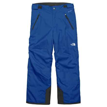 The North Face Freedom Ski Pants - Waterproof, Insulated (For Big Boys) in Bright Cobalt Blue - Closeouts