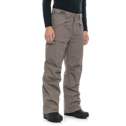 The North Face Freedom Ski Pants - Waterproof, Insulated (For Men) in Falcon Brown - Closeouts