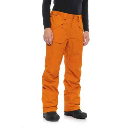 The North Face Freedom Ski Pants - Waterproof, Insulated (For Men) in Hawaiian Sunset Orange - Closeouts